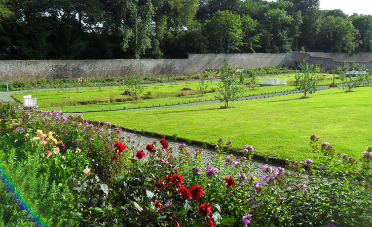 Colclough Walled Garden Hook Peninsula