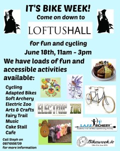 Bikes at Loftus Hall