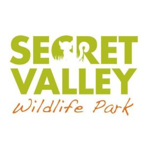 The logo of secret valley wildlife park