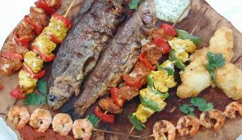 Fish bbq  by Cloonagh smokin