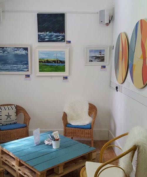Lighthouse Trading Company cafe, Fethard on Sea