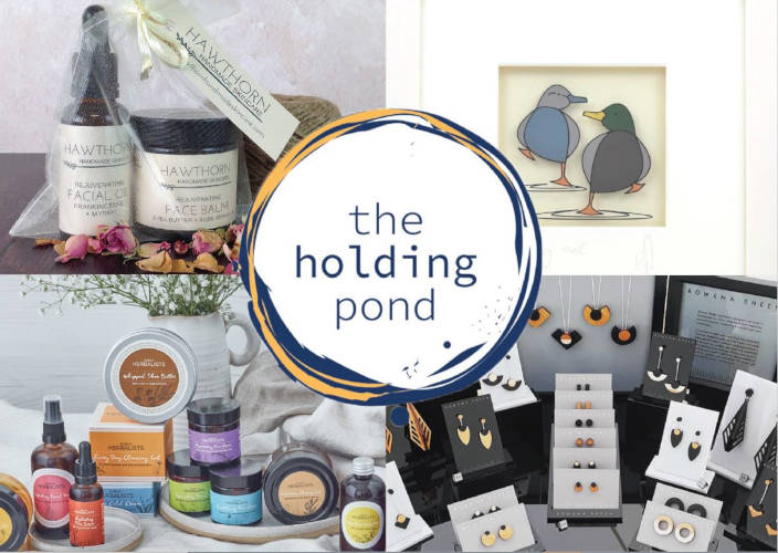 Selection of items available from The Holding Pond